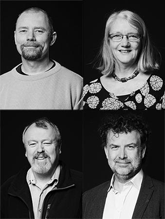 Niels hannibal, Inge Nygaard Pedersen, Lars Ole Bonde, Lars Rye Bertelsen