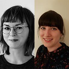 Photo of the two authors Tina Mallon and Monika Hoog Antink